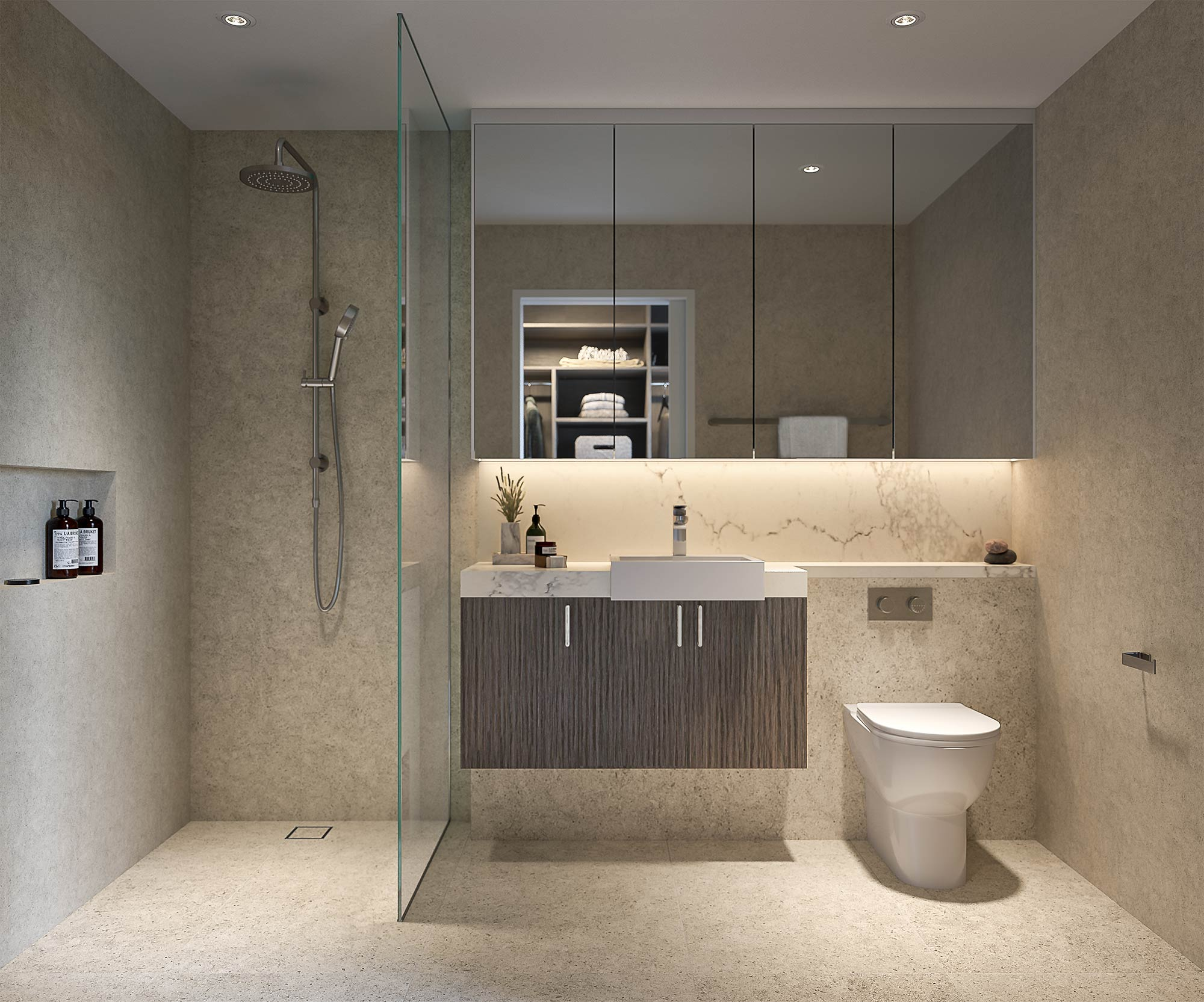 Bathroom, artist's impression at Strathalan Macleod