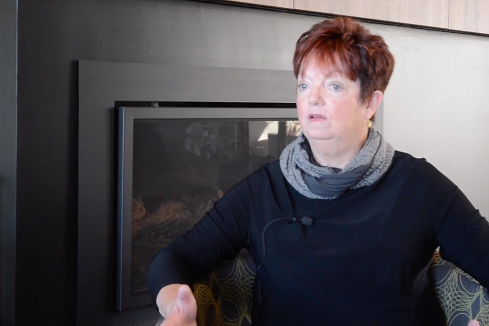 Resident, Gail Barrett at Strathalan Macleod