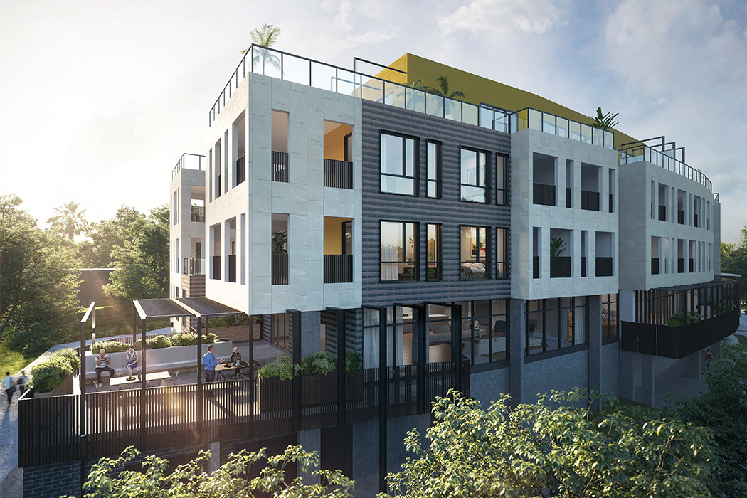 Baptcare, The Orchards (retirement living) - artist impression of Orchards apartments